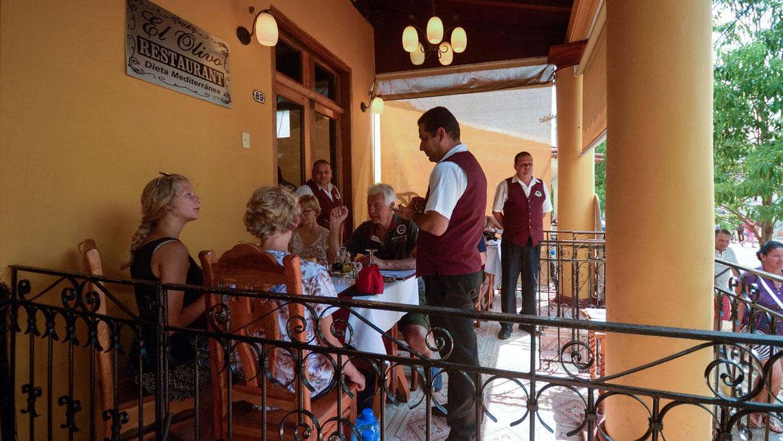 Restaurant El Olivo in Viñales
