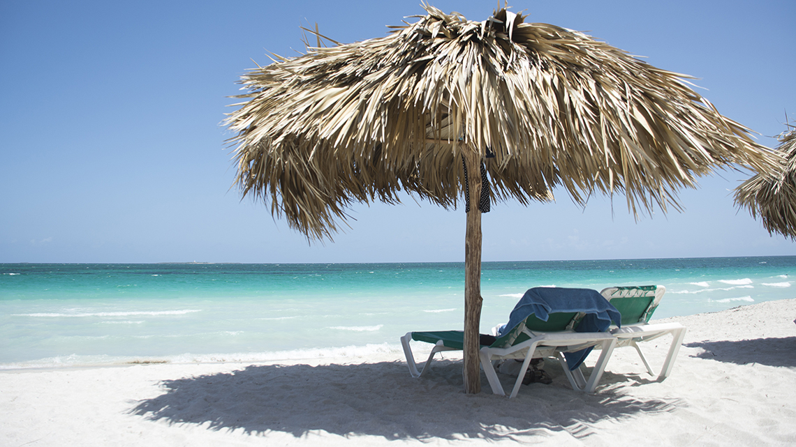 Playas del Este, lovely beaches just 12 miles from Havana city centre