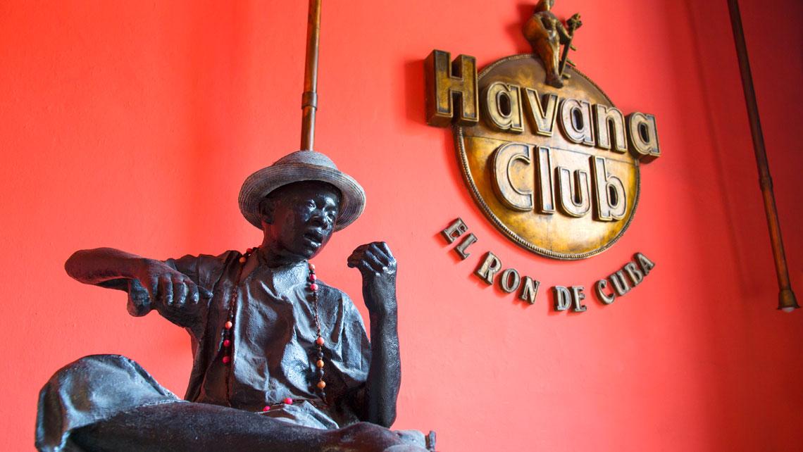 Detail of Rum Museum in Havana