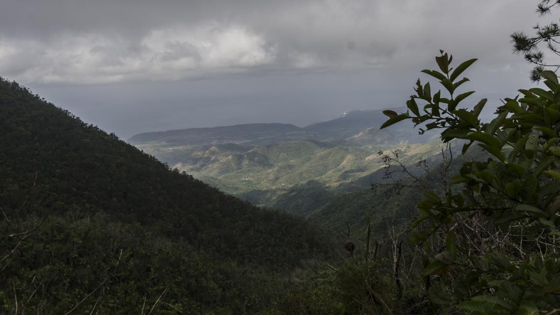 Part of Sierra Maestra mountain range