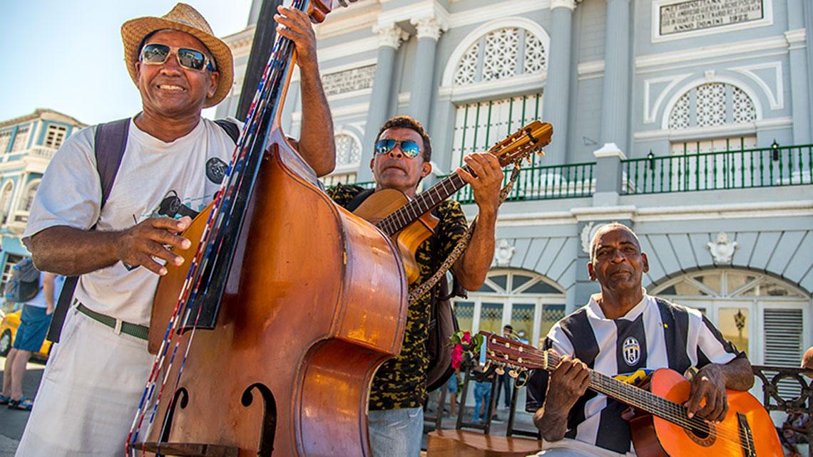 Musical ensemble on the street