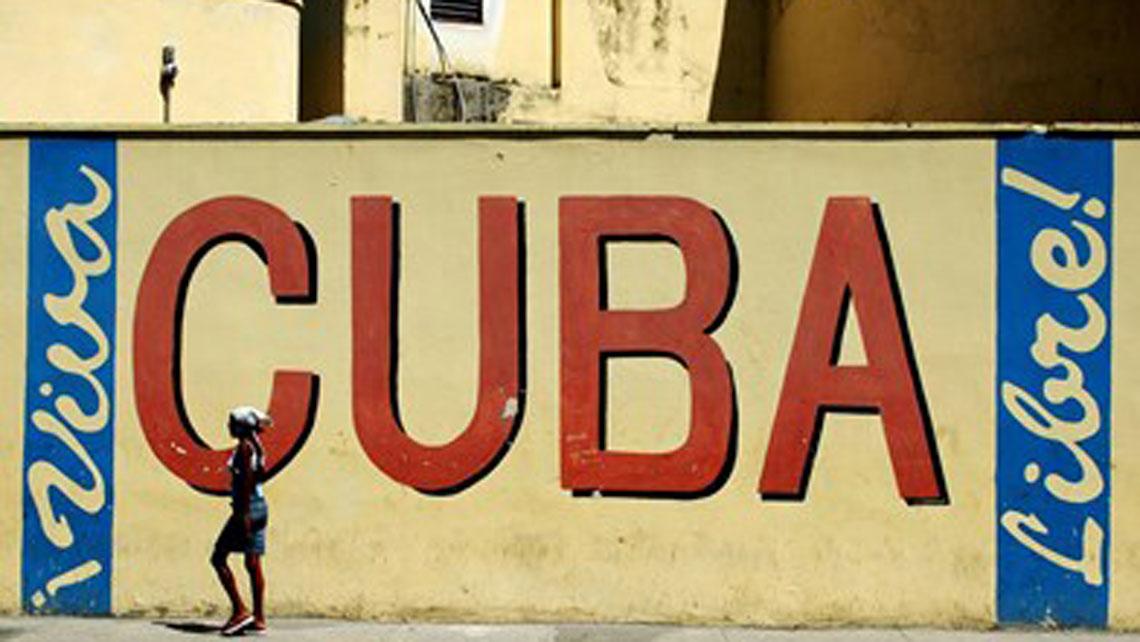 Cuba historical slogan Cuba Libra