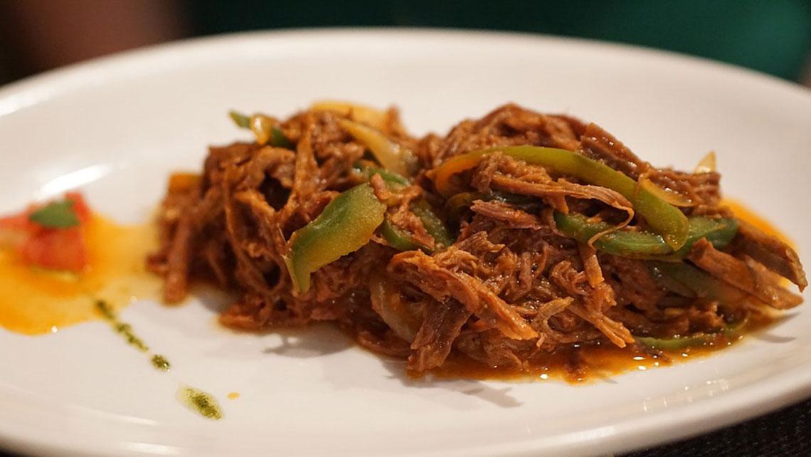 A dish of Ropa Vieja