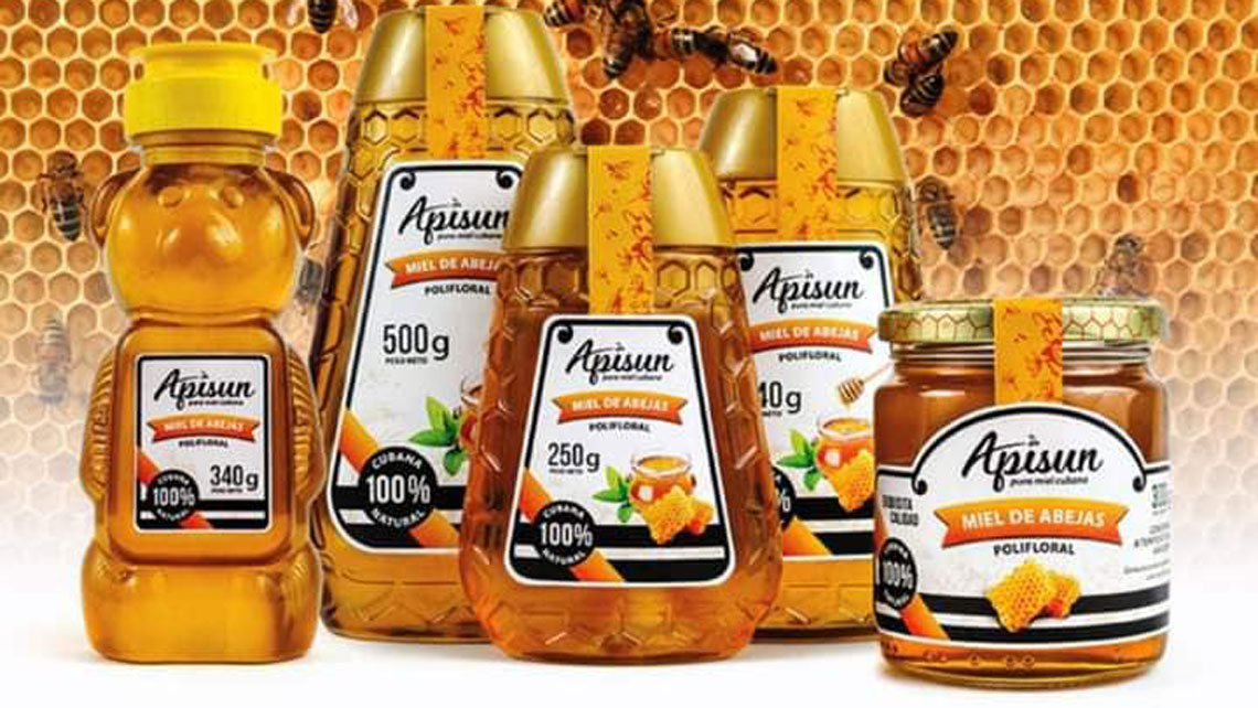 Jars of honey by Apisun