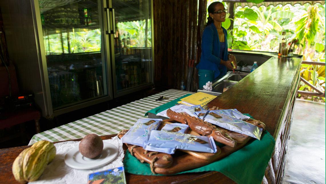 Cuban chocolate varieties in Baracoa