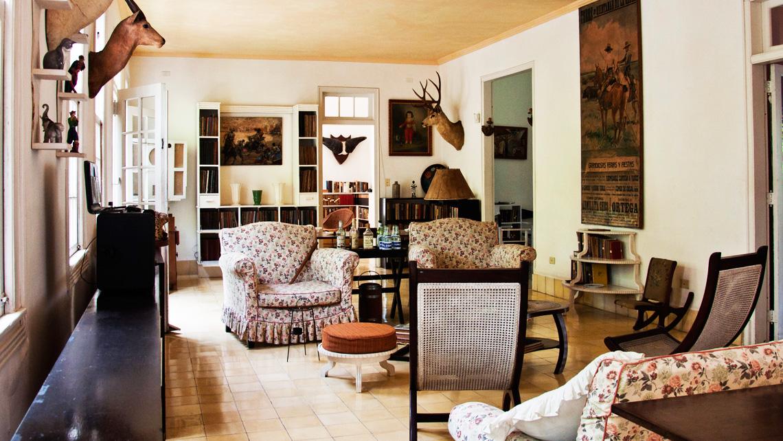 The former house of the American writer Ernest Hemingway in Havana