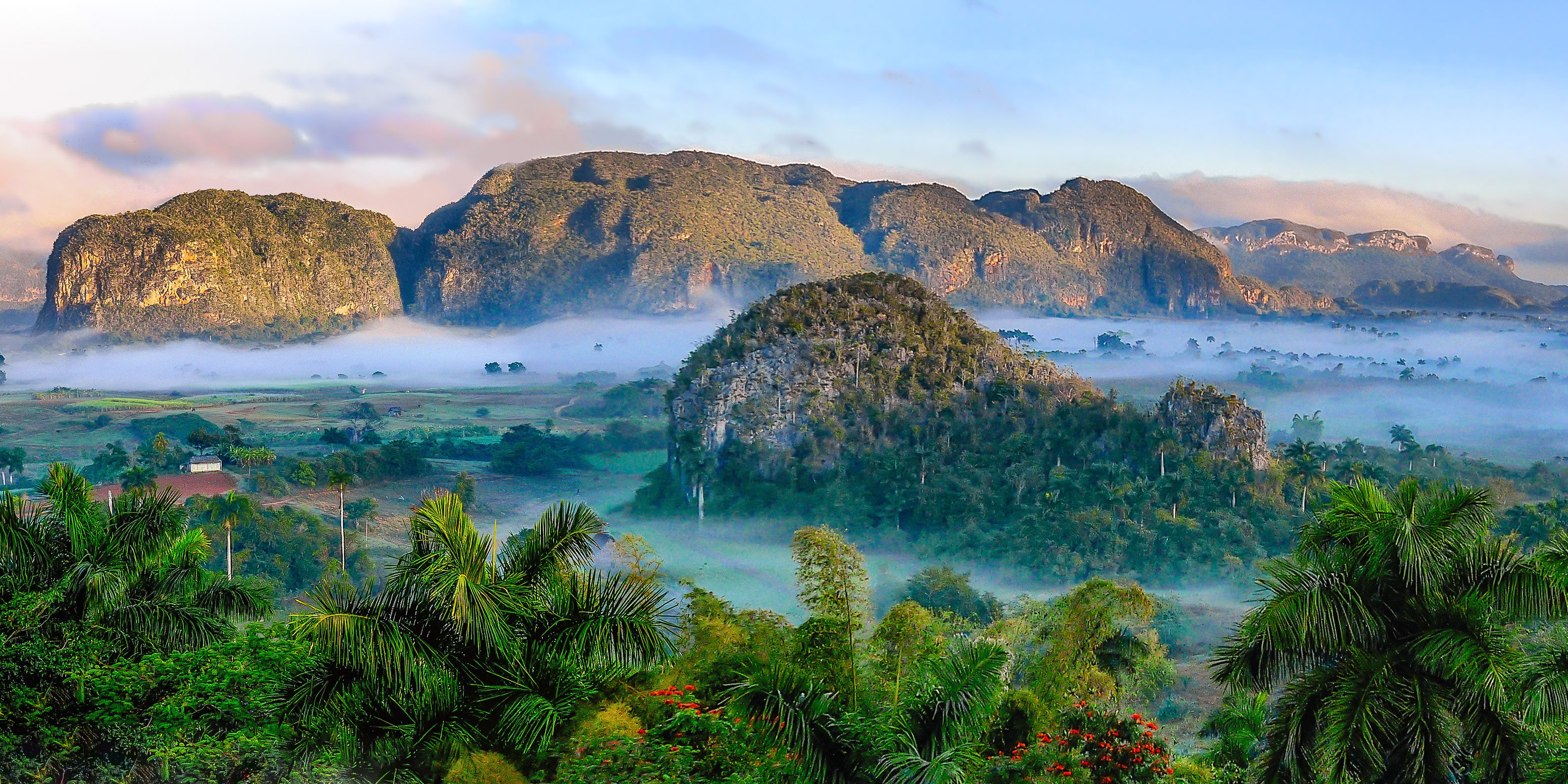 Mogote hills in Viñales Valley