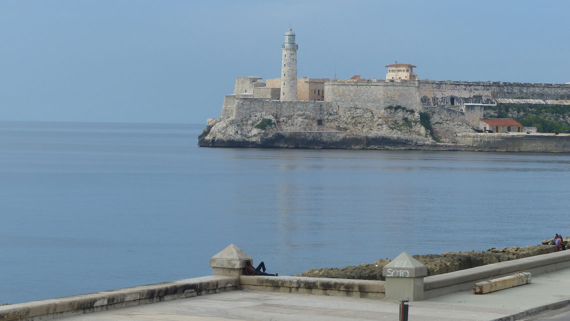 The Morro Fortress seen from El Malecon