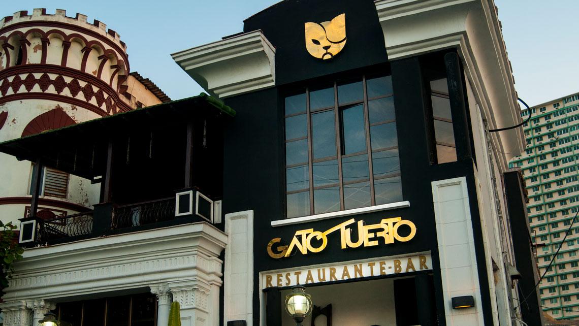 Facade of El Gato Tuerto