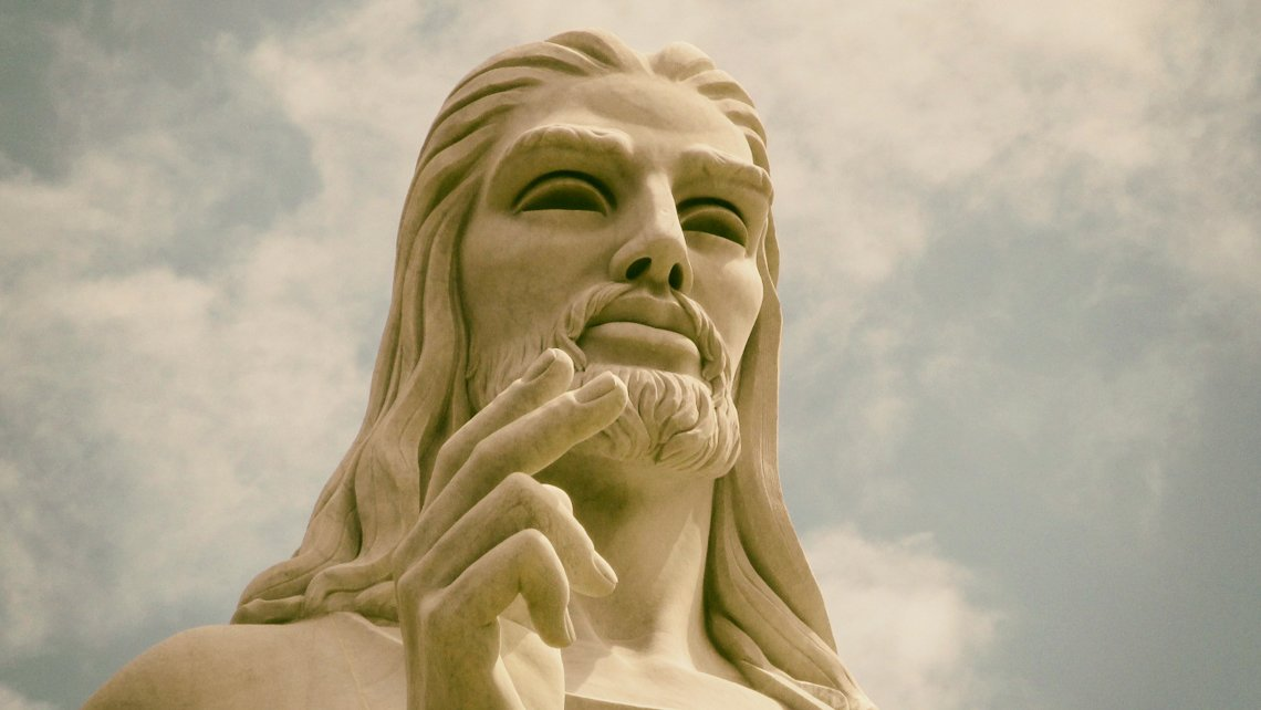 close up of the Christ of Havana