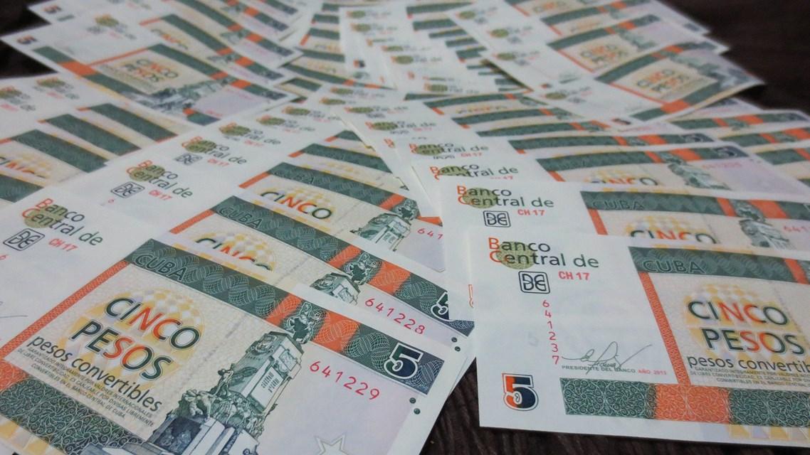 Cuban Convertible Peso (CUC) notes
