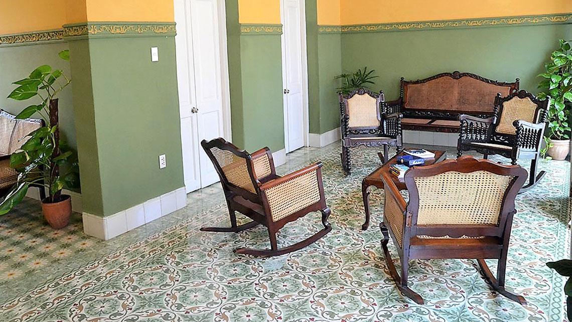 Hostal Mi Tierra livingroom