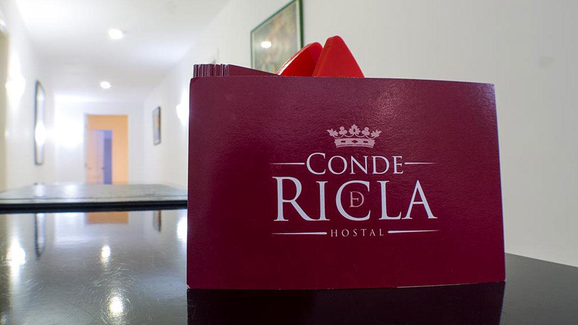 Hostal Conde de Ricla detail