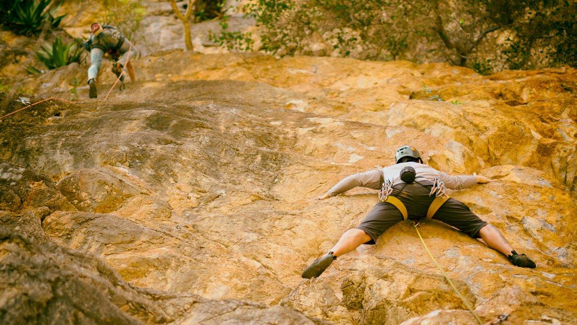 Rock climbing in Pinar del Rio