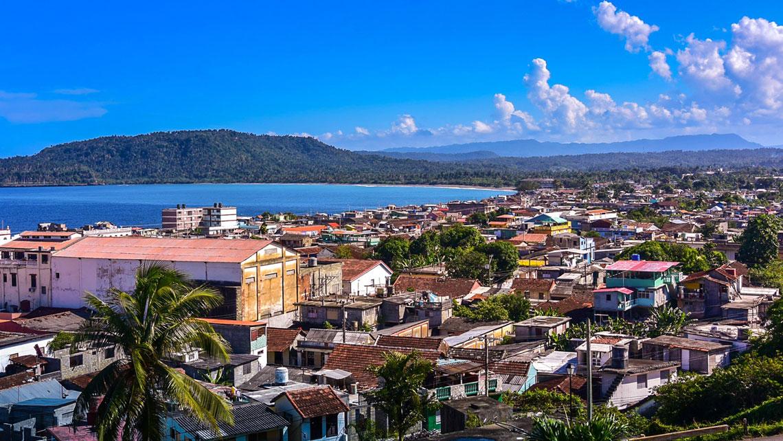 Baracoa view of city