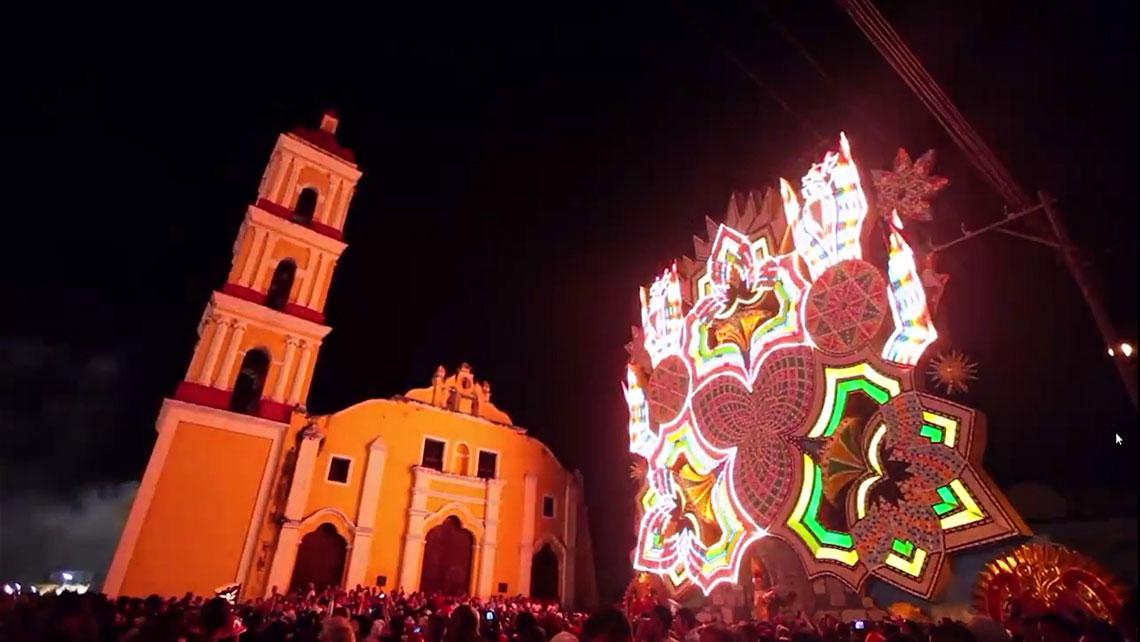 The traditional Parrandas in Remedios