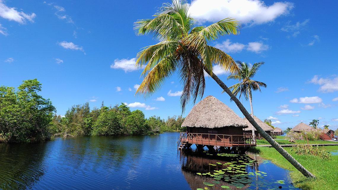 Treasure lagoon in Cienaga de Zapata