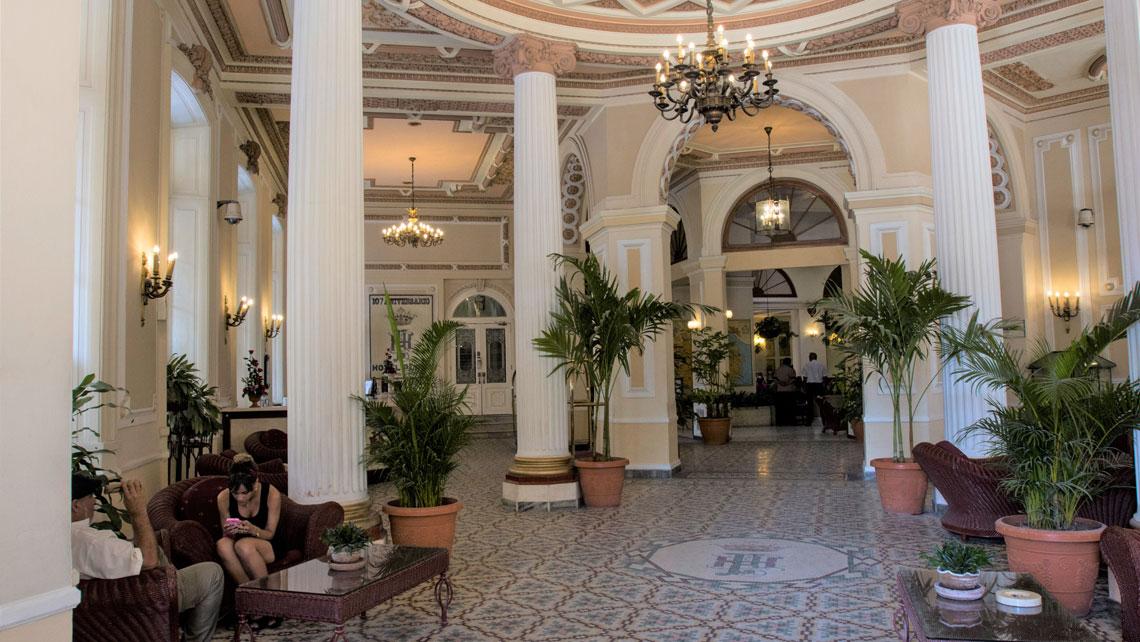 Interior of Hotel Plaza