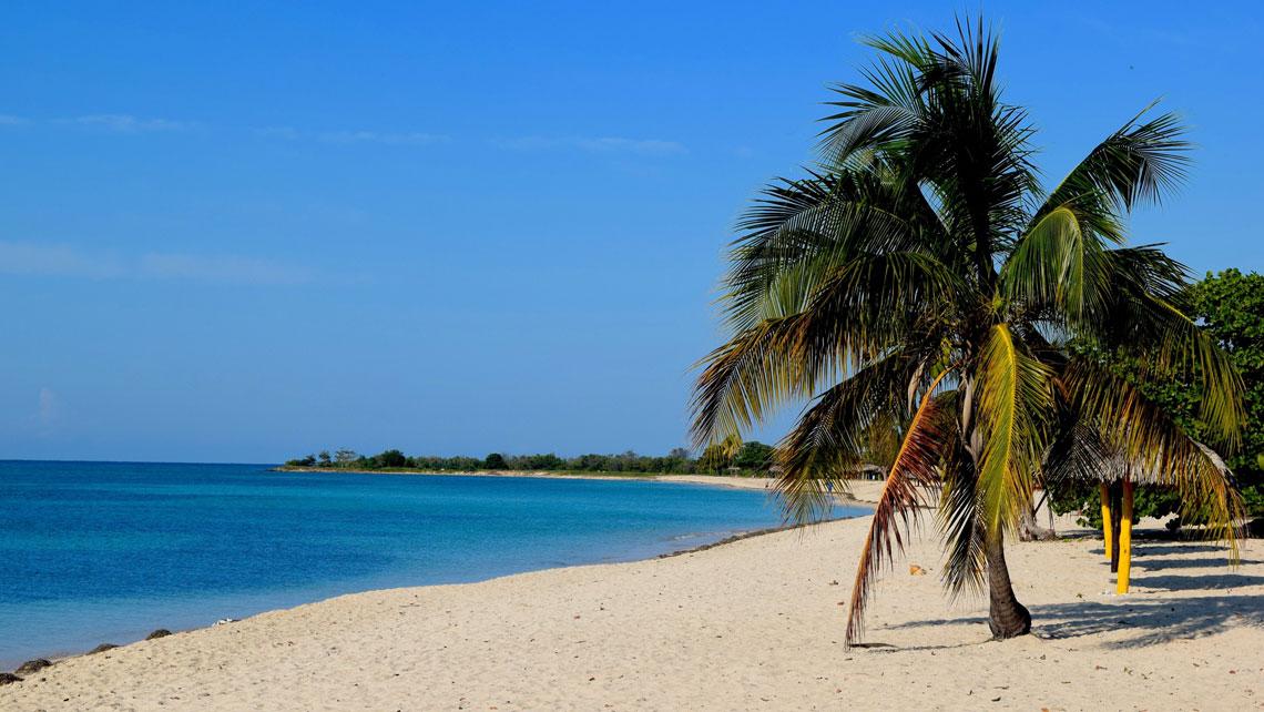 A stretch of Cuban coast