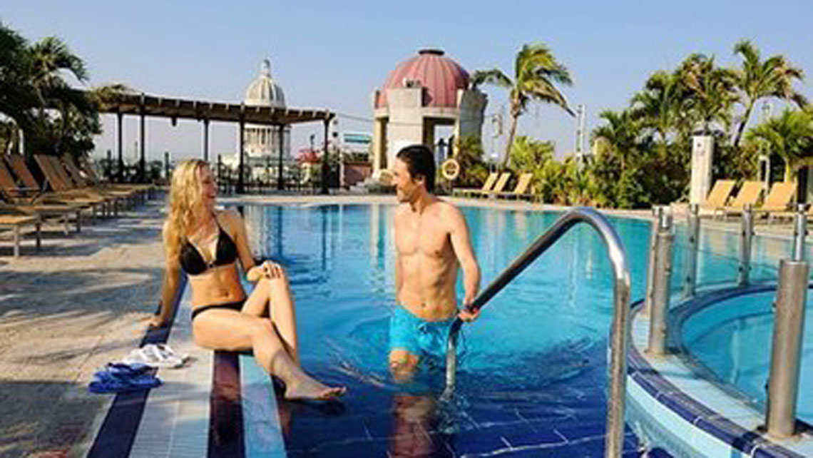 Iberostar Parque Central Rooftop Swimming Pool