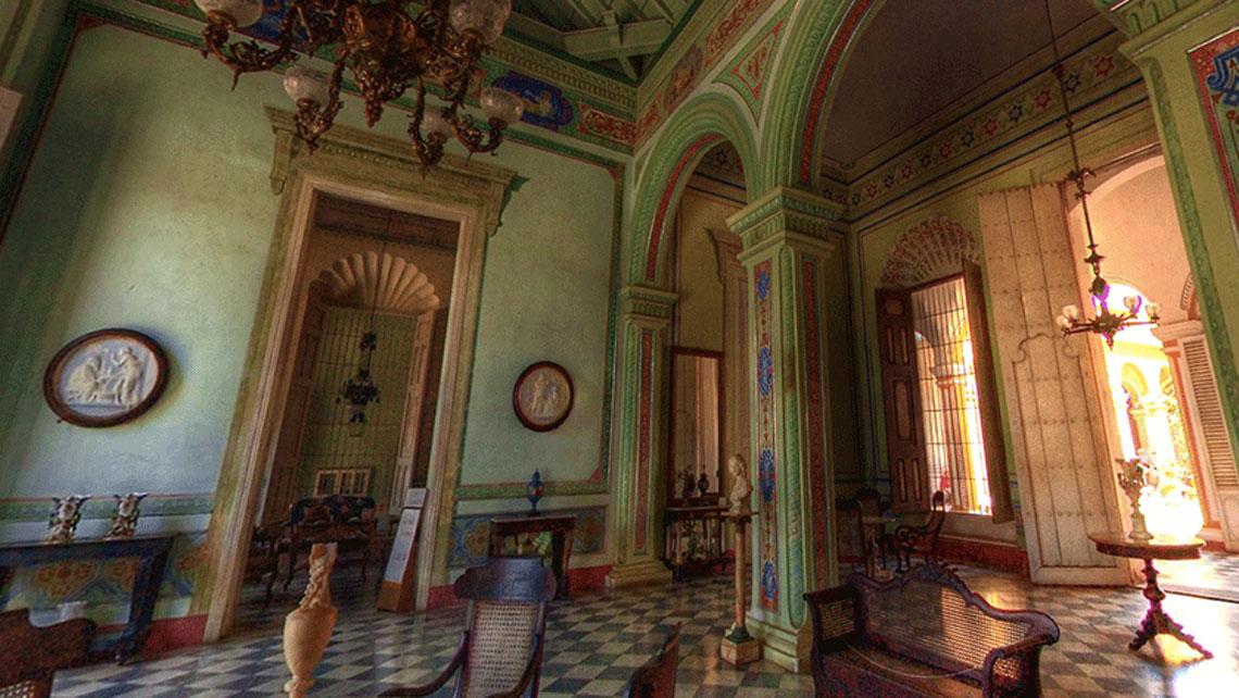 Interior of Municipal Museum in Trinidad Cuba