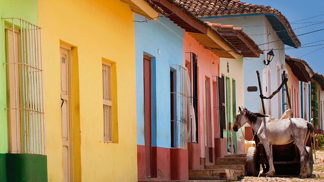 Colourful Streets in Trinidad, Cuba