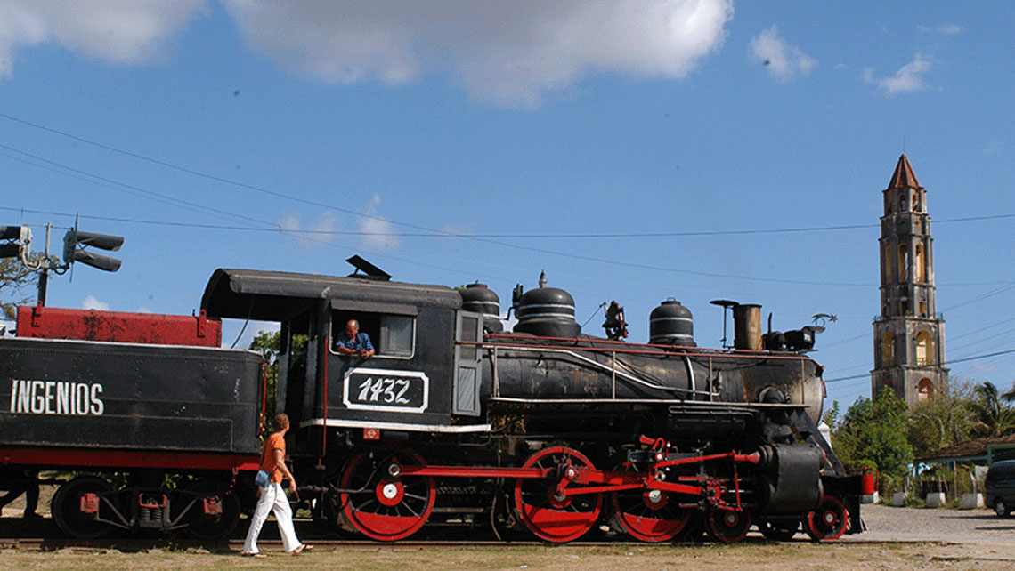 Steam Train from 1906 in Valle de los Ingenios