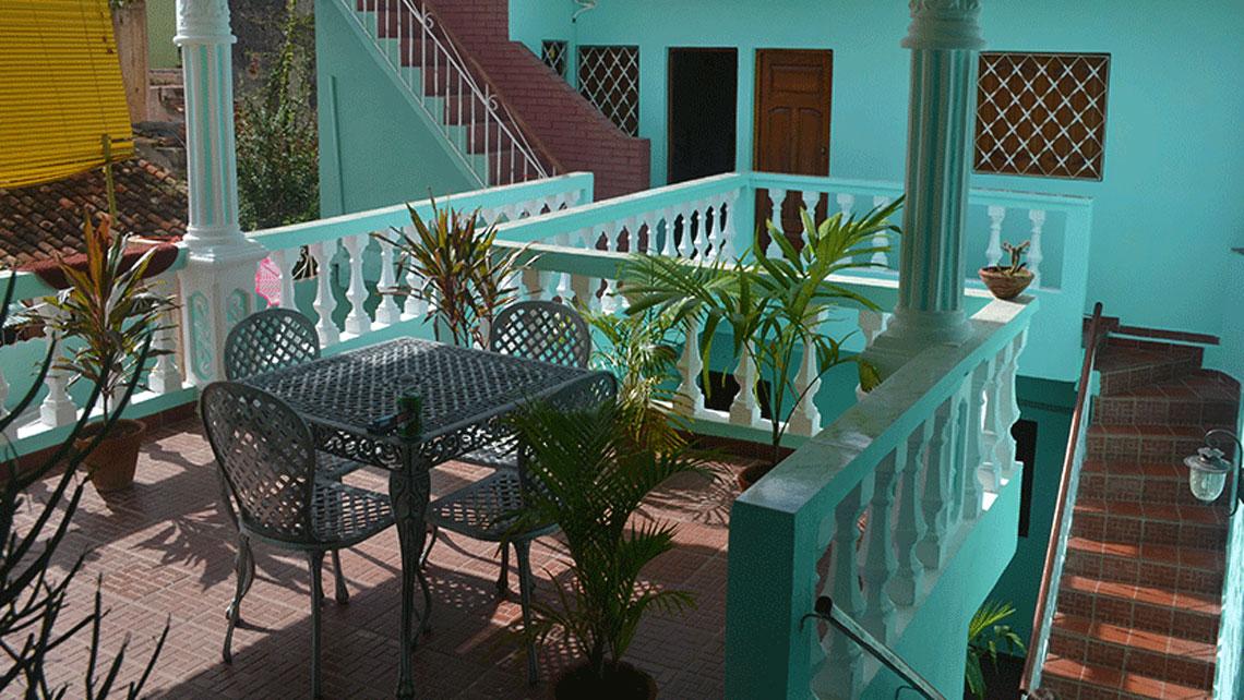 Casa Jesus Pineda in Trinidad, Cuba
