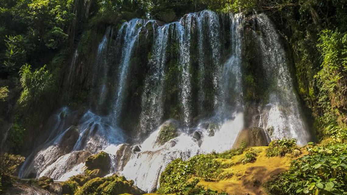 El Negro waterfall in El Nicho