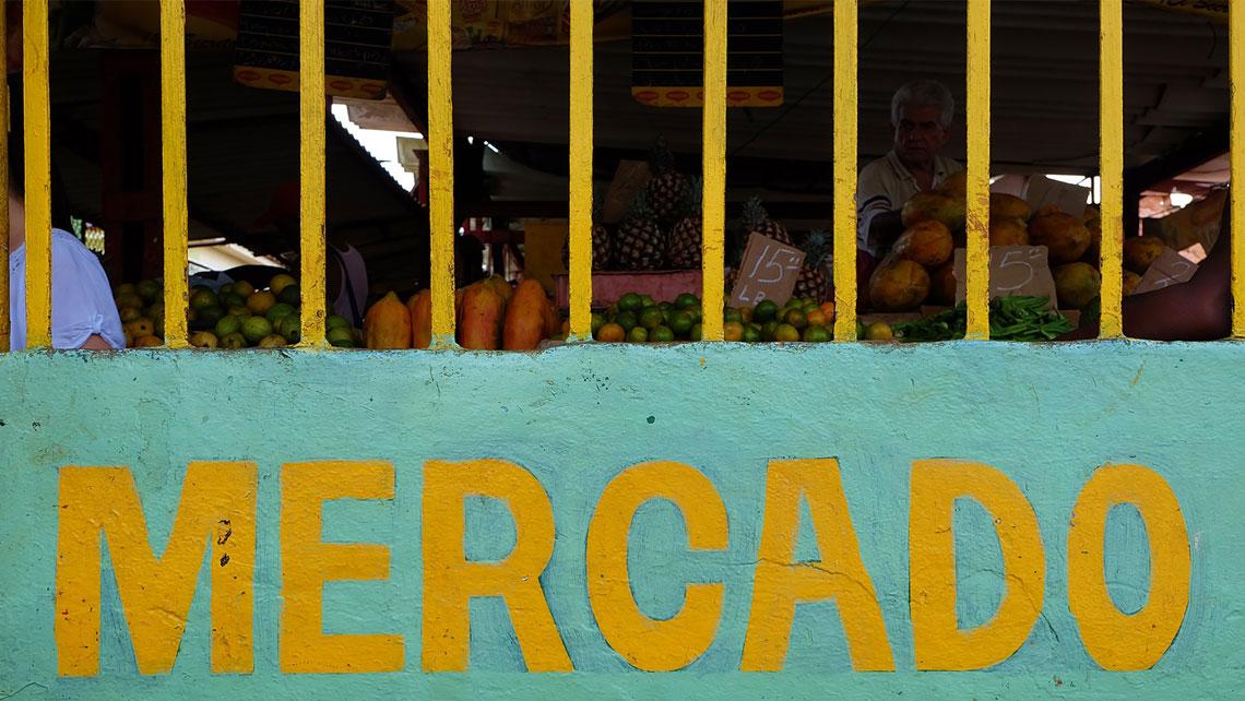 Agro Market in Cuba