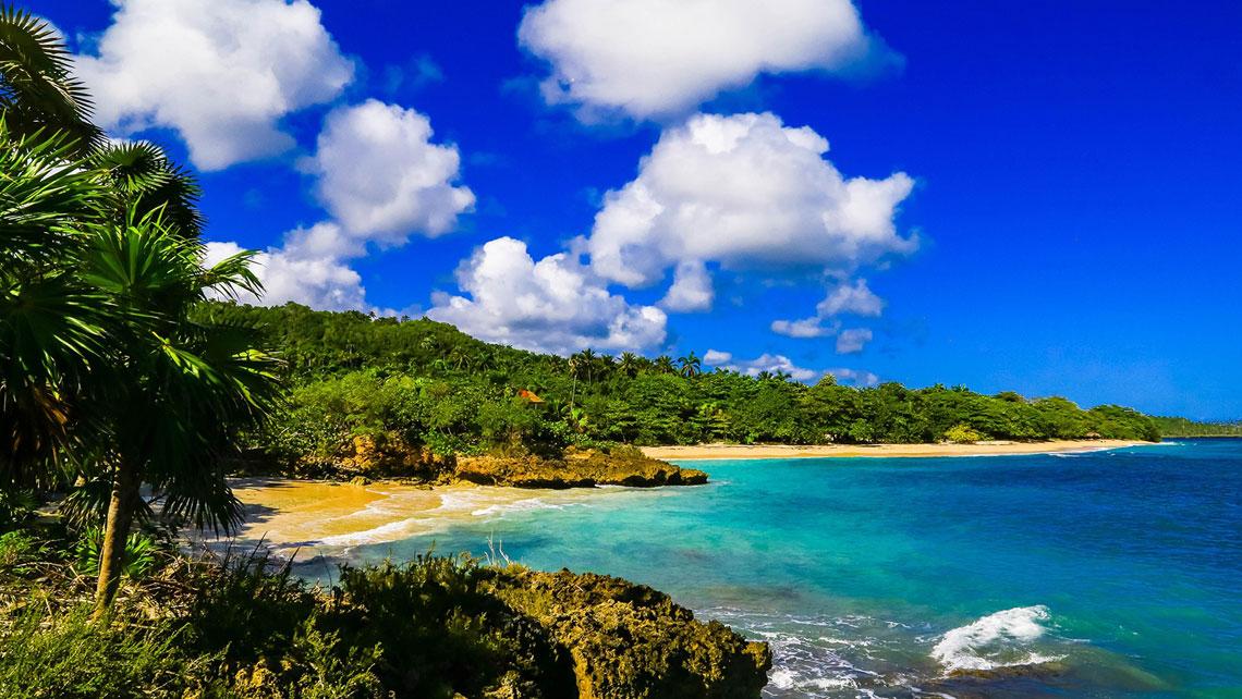 Beautiful coastline in Baracoa Cuba