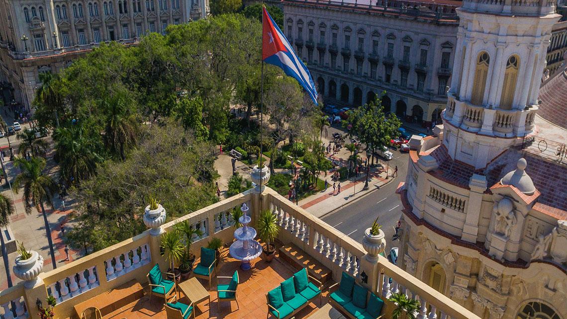 Hotel Inglaterra Rooftop Bar