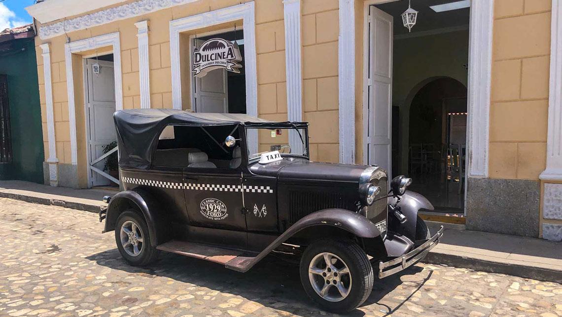 Taxi in Trinidad, Cuba