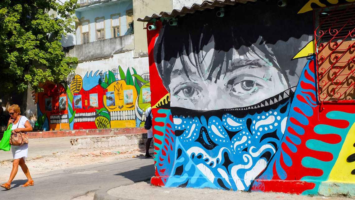San Isidro Art District, Havana, Cuba