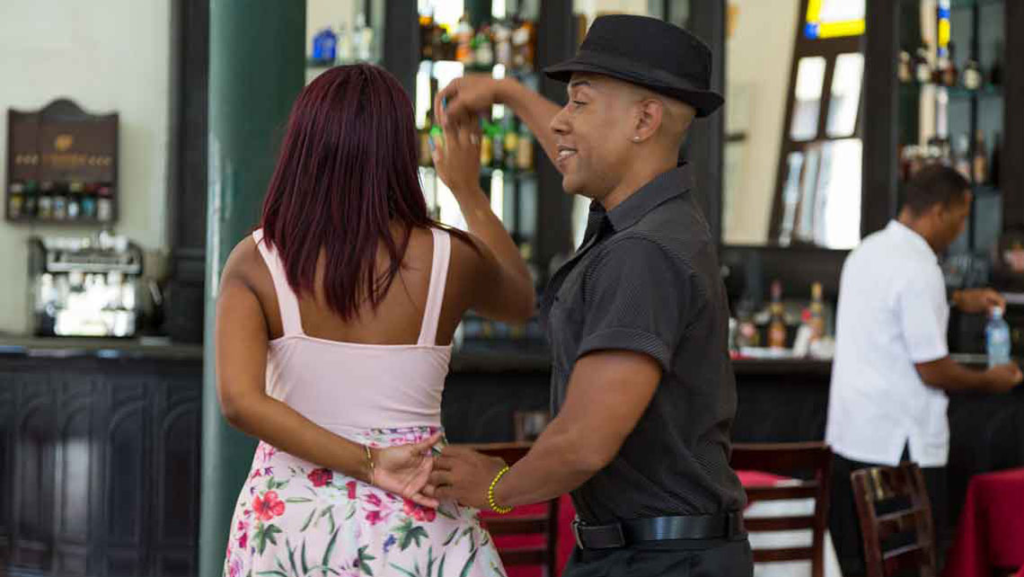 Salsa dancing is inherent to Cubans' identity