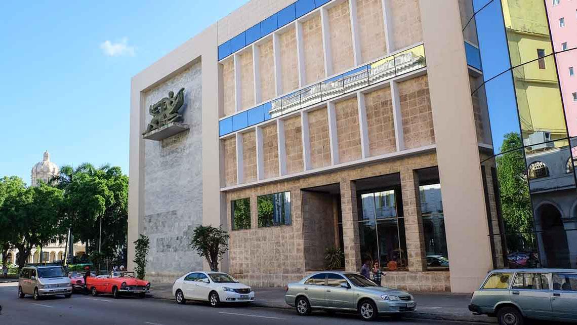 Museo Nacional de Bellas Artes (Cuban Arts Building), Havana, Cuba