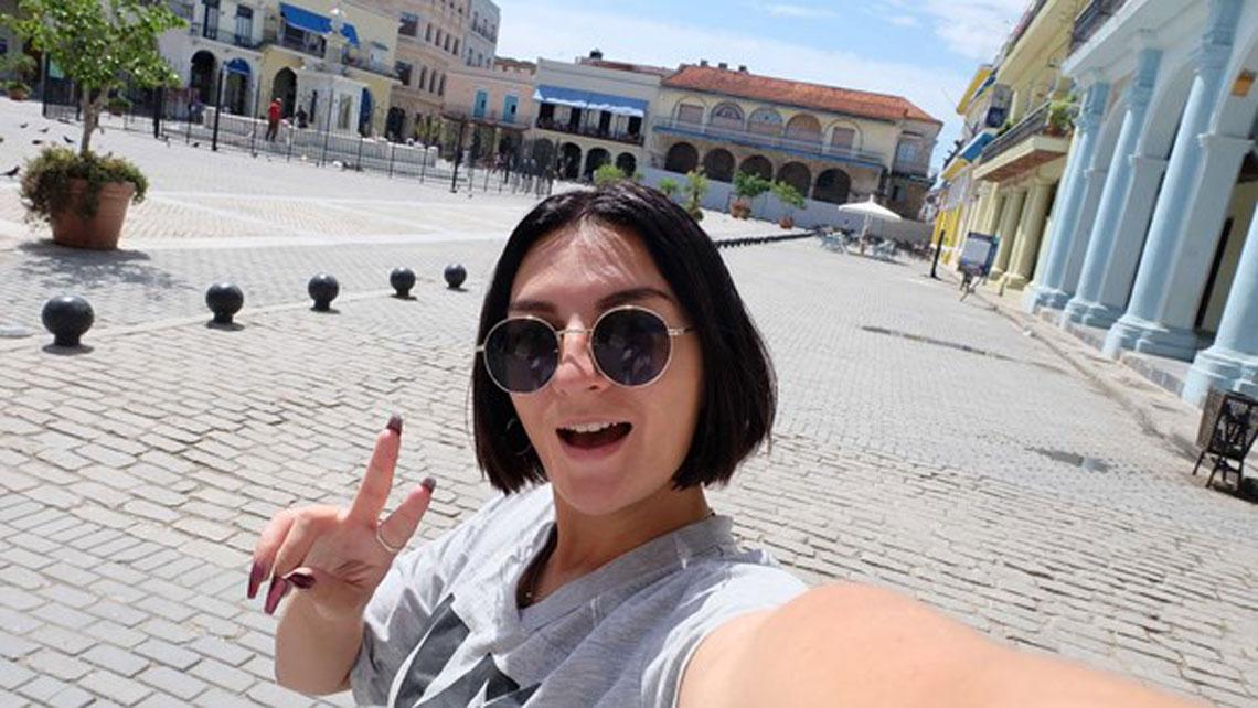 Selfie at Plaza Vieja