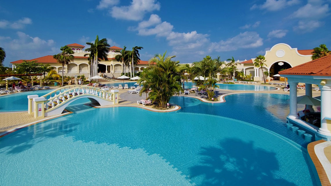 Amazing swimming pool of Paradisus Princesa del Mar, Varadero