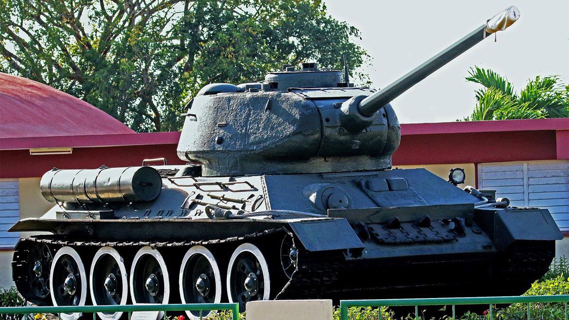 Tank in Museum of Revolution, Havana