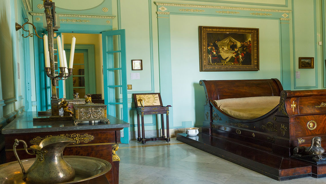 Collection of items from the Napoleonic era in Museo Napoleonico