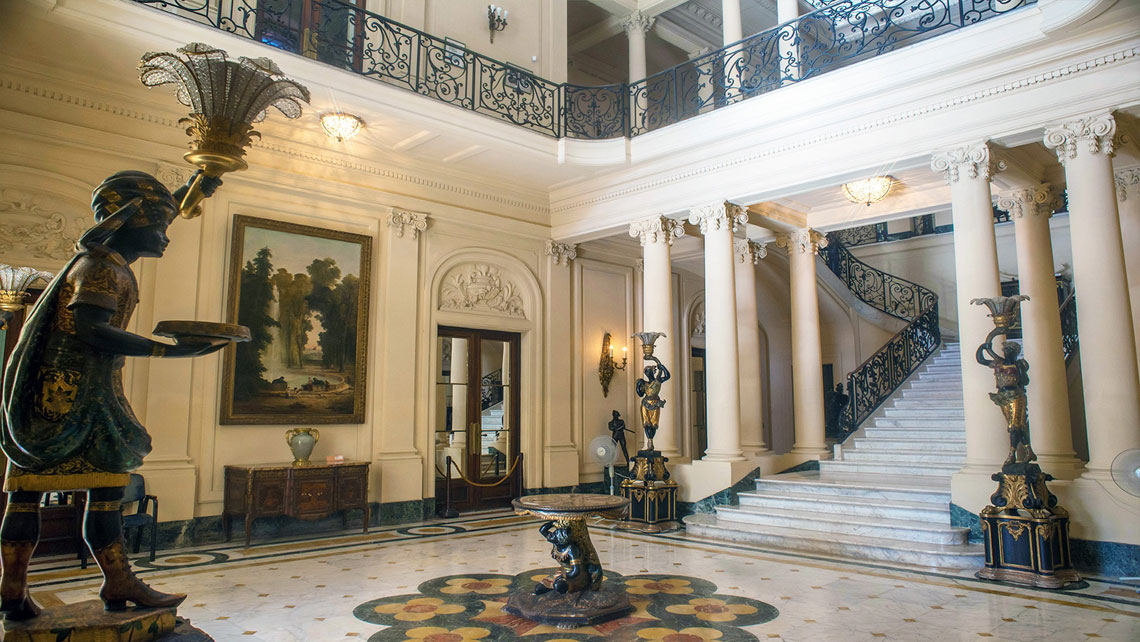 Interior of Museum of Decorative Arts, Havana