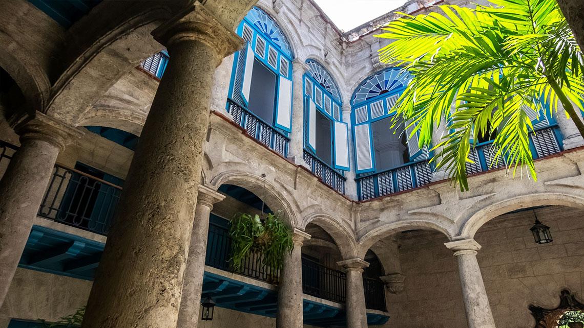 Interior of Palacio del Segundo Cabo
