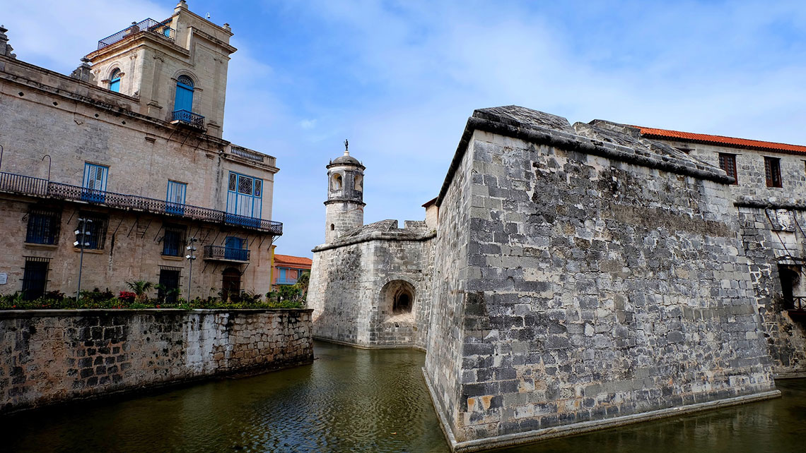 The Castle of the Royal Force considered Cuba's most important maritime museum
