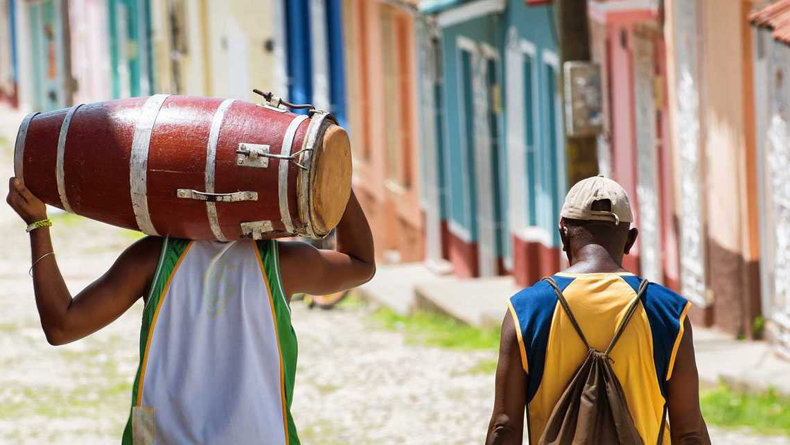 The sounds of Cuba: Fiesta del Tambor