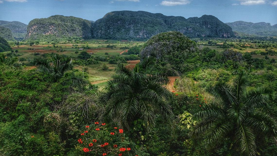 Valle de Vinales National Park in Pinar del Rio province, Cuba