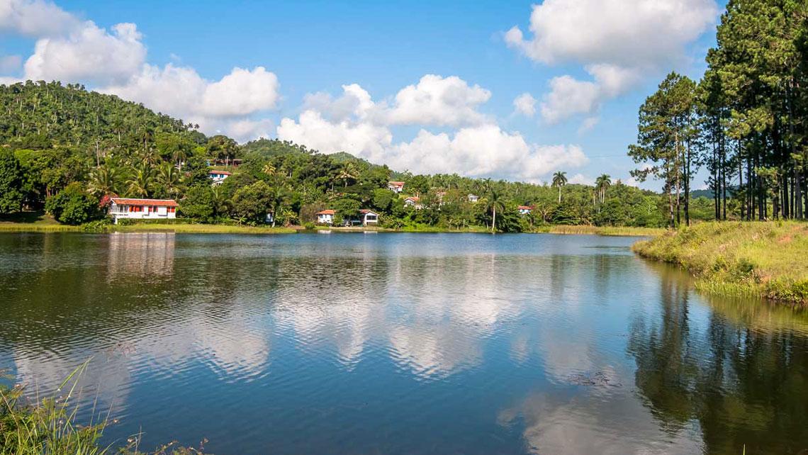Lake in Las Terrazas