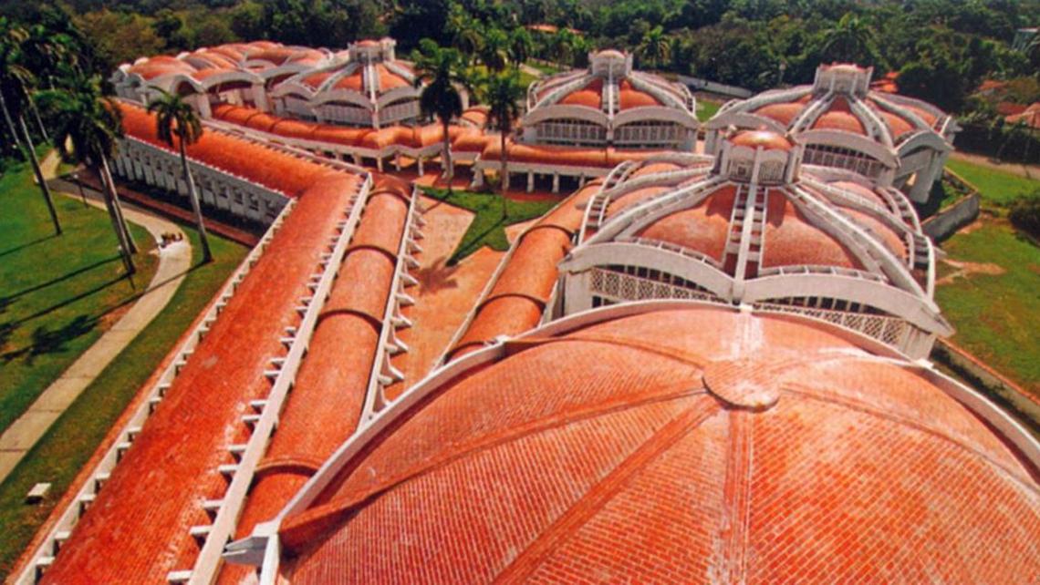 Aerial view of The National Art Schools, Havana