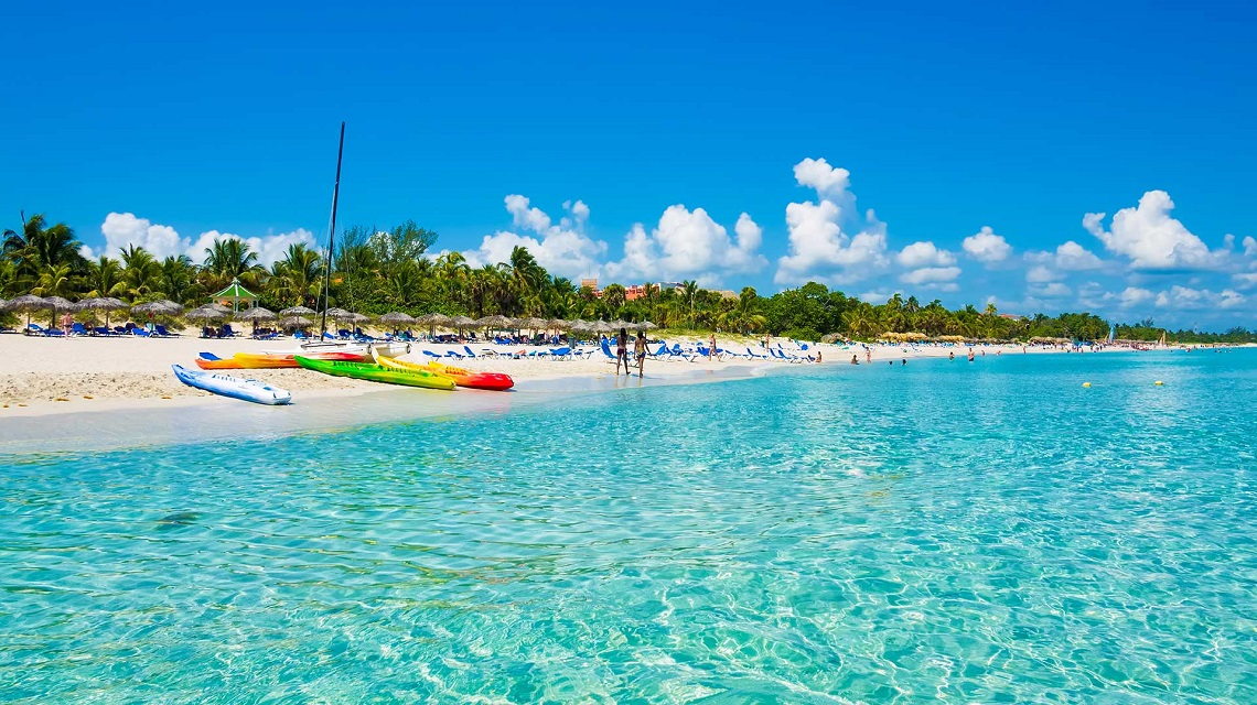 Relax this Christmas  at Cuba's Hottest Beach Resort