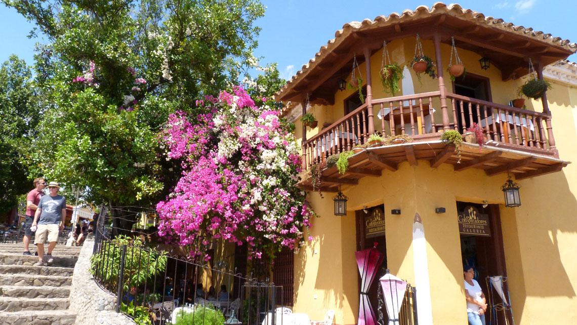 Wooden balcony, Casa de los Conspiradores,Trinidad