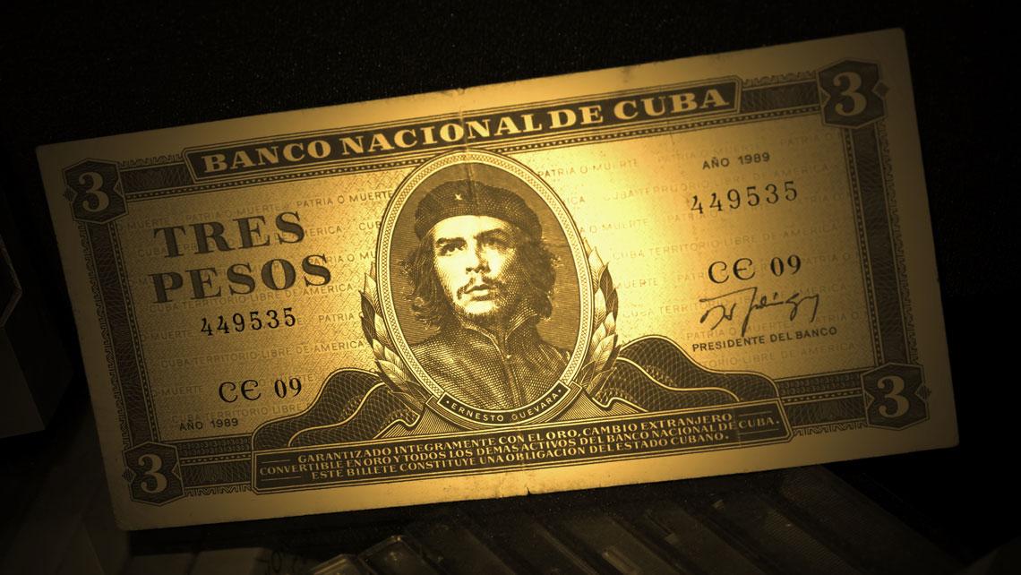 Cuban Peso, or CUP